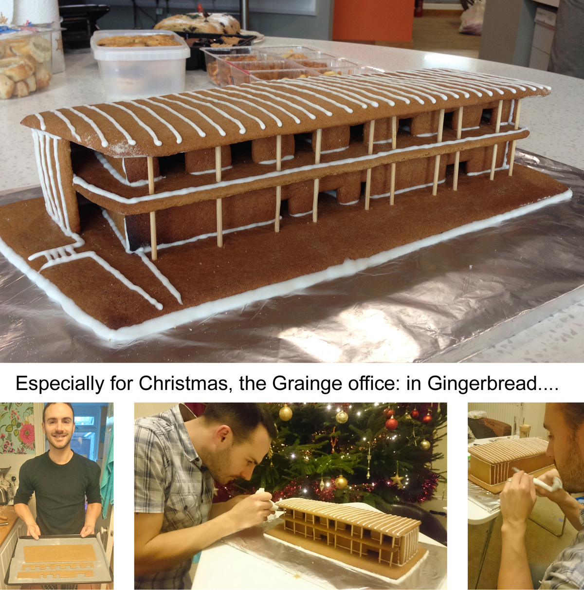 Grainge Architects Gingerbread Office